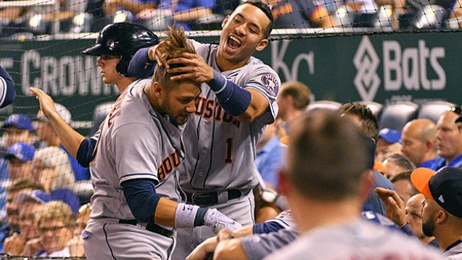 Best of MLB: Astros Push Past Royals for 11th Straight Victory
