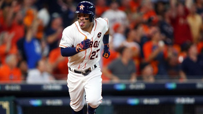 MLB Playoffs: Jose Altuve Blasts 3 HRs as Astros Cruise Past Red Sox