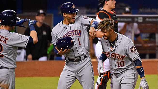 Best of MLB: Yuli Gurriel Hits Grand Slam as Astros Power Past Marlins