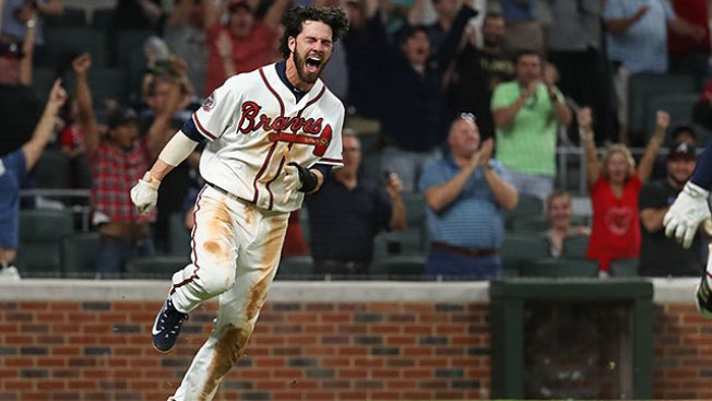 Best of MLB: Dansby Swanson Hustle Helps Give Braves Win Over Mets