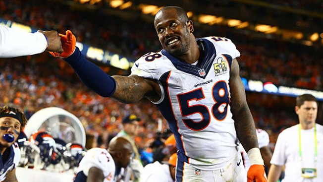 NFL Notes: Von Miller Signs 6-year, $114.5 Million Contract With Broncos