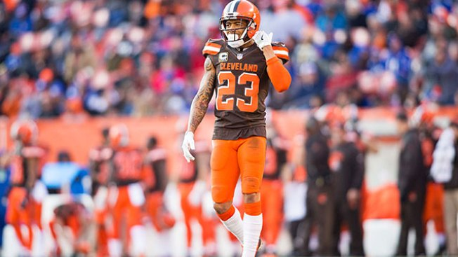 NFL Notes: Browns Looking to Trade Pro Bowl Cornerback Joe Haden