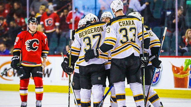 Surging Bruins Put on a Broadway Show