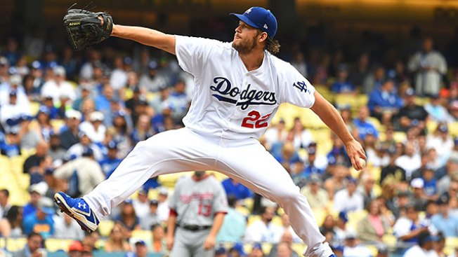 Best of MLB: Clayton Kershaw Outduels Stephen Strasburg in Dodgers' Win