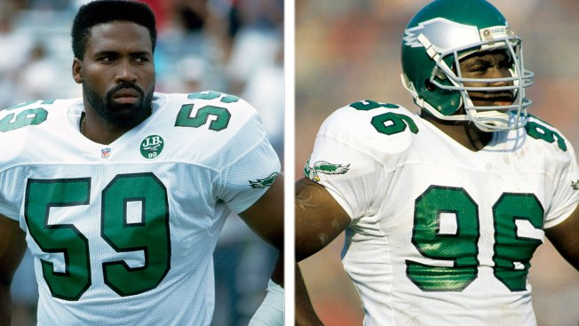 Defensive Greats Seth Joyner, Clyde Simmons to Be Inducted Into Eagles Hall of Fame on Sept. 23