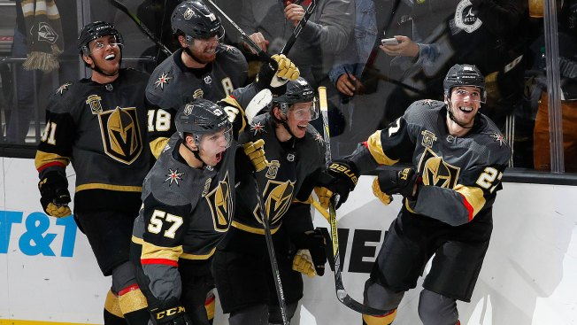 A Record-setting Night for Golden Knights