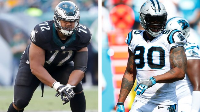 5 Key Matchups Eagles Need to Win to Beat Panthers