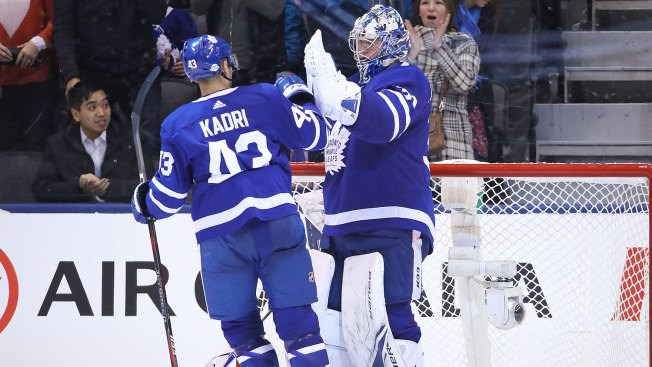 A Pair of Sensational Efforts for Surging Maple Leafs