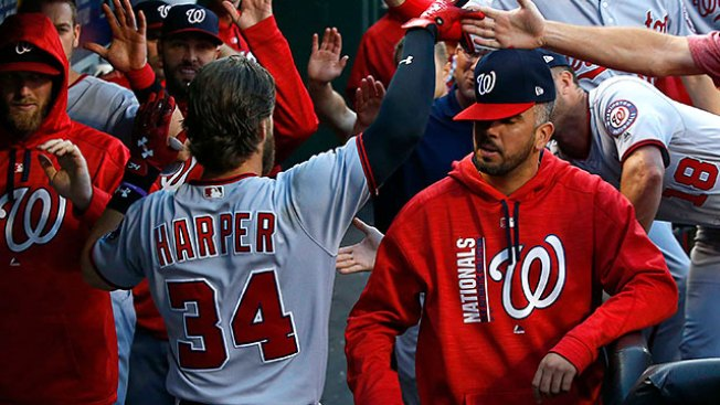 Best of MLB: Bryce Harper Hits Missile to Spark Nationals' Win Over Mets