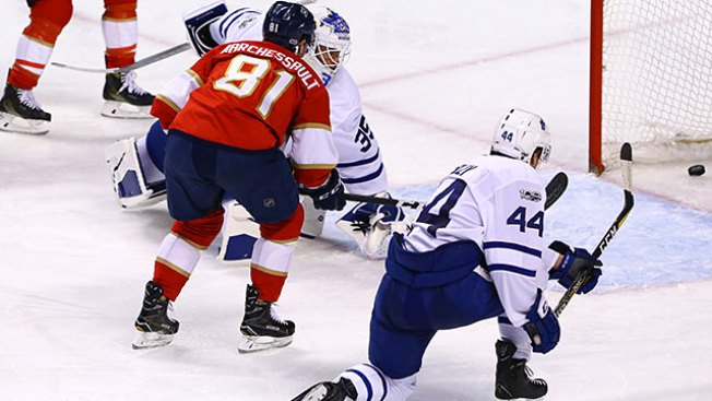 004ebd69087 Best of NHL  Panthers Crush Maple Leafs to Snap 5-game Skid - NBC 10 ...