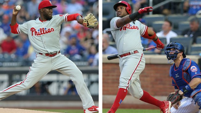 Dominican Duo of Enyel De Los Santos, Maikel Franco Lead Phillies Into Sole Possession of 1st Place