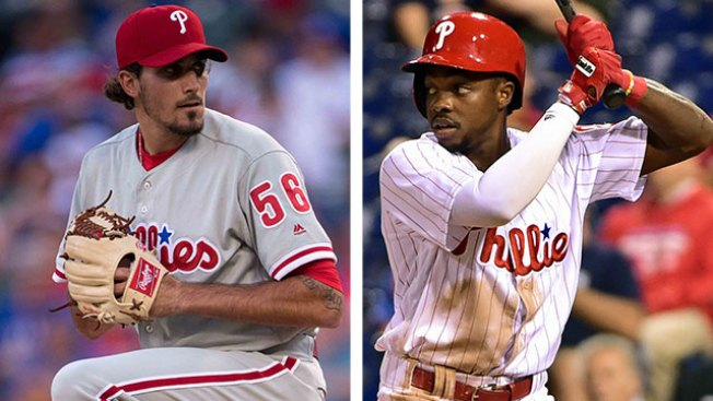 Health Check: Phillies' Zach Eflin, Roman Quinn to Have Sore Elbows Checked by Doctor