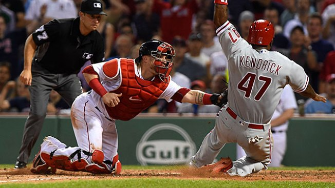Phillies Suffer Another Extra-inning Loss to Red Sox as Skid Reaches 7