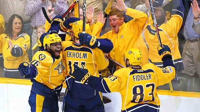 NHL Playoffs: Predators Down Ducks to Reach 1st Stanley Cup Final