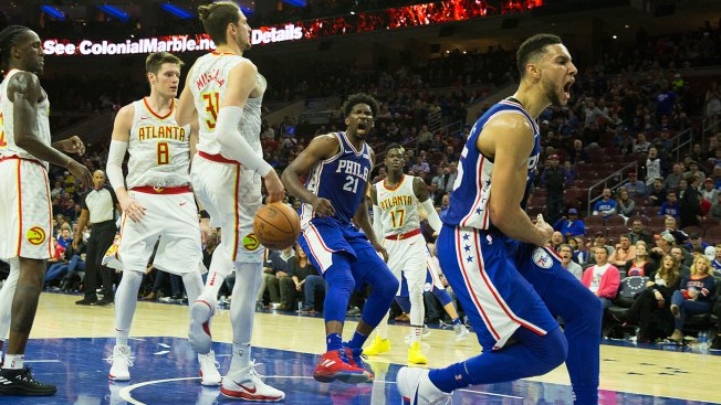 Sixers Close in on 'something Special' With Great Escape
