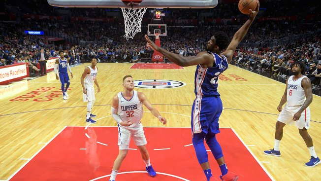 Sixers' Joel Embiid almost  gets in scuffle, frustrates Clipper