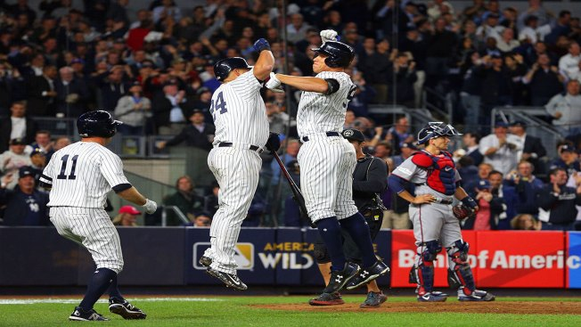 MLB Playoffs: Yankees Rally to Beat Twins in AL Wild-card Game