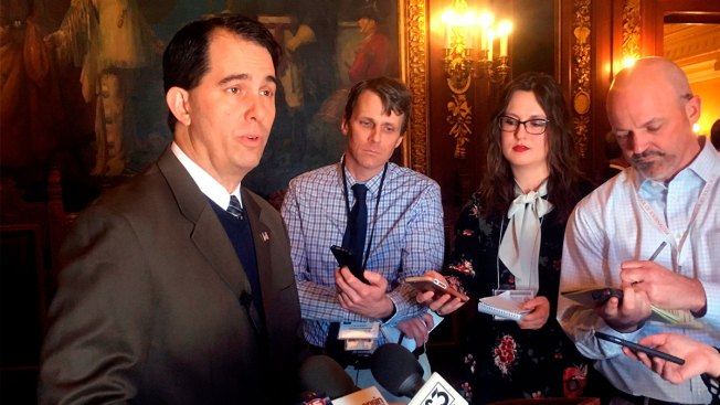 Walker Shouted Down Over GOP Attempt to Weaken His Successor