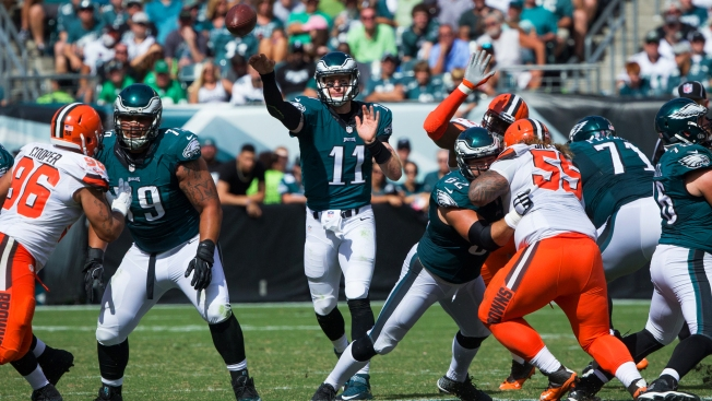 Carson Wentz Named Pepsi NFL Rookie of the Week