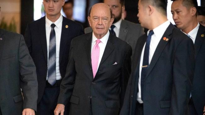 Ross Arrives in Beijing for Talks on Trade Surplus