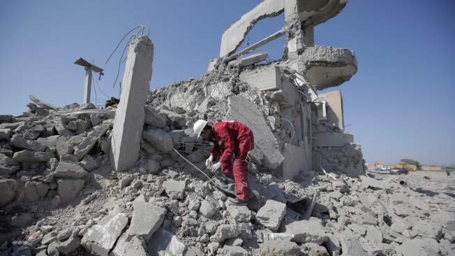 Saudi-Led Airstrikes Kill at Least 100 in Rebel-Run Prison