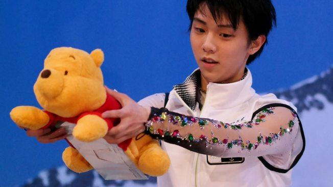 [NBCO-GalleryFeed] Yuzuru Hanyu and Winnie the Pooh