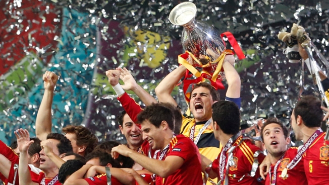 Spain Wins Again, Beating Italy 4-0 at Euro 2012