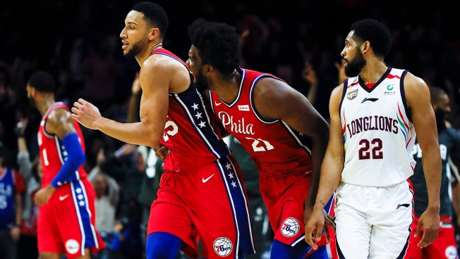Ben Simmons Finally Does It, and More Observations From Sixers' Preseason Opener