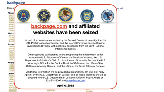 Backpage.com, CEO Plead Guilty to State, US Charges