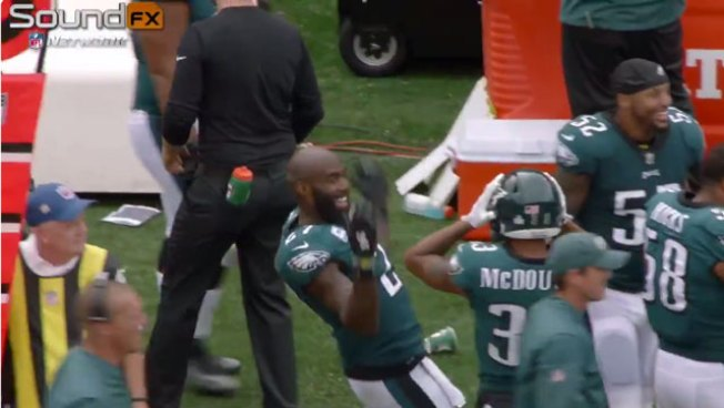 This Malcolm Jenkins Mic'd Up Segment From the Arizona Blowout Is Fantastic