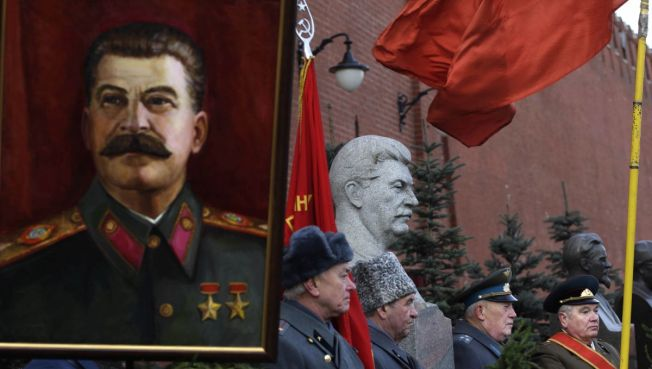 Dictator Stalin Voted Third Greatest Russian