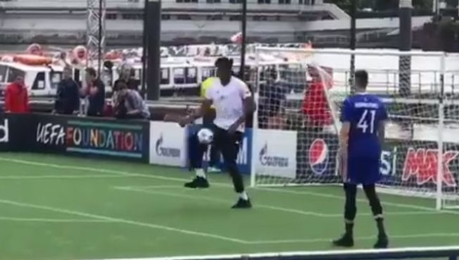 Embiid Shows Off Soccer Skills, Says He'd Make the Best Pro Soccer Player in NBA