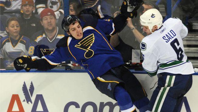NHL Last Night: Salo Scores Late to Lift Canucks