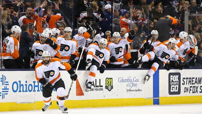 Flyers Finally Break a 13-year Hex