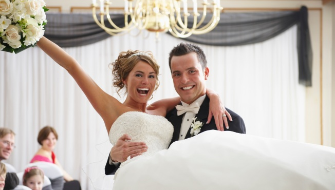 Win a Wedding Reception -- Booze and Butlers Included