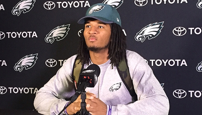 Relegated to Spectator, Sidney Jones Taking Rehab Slow With Eagles