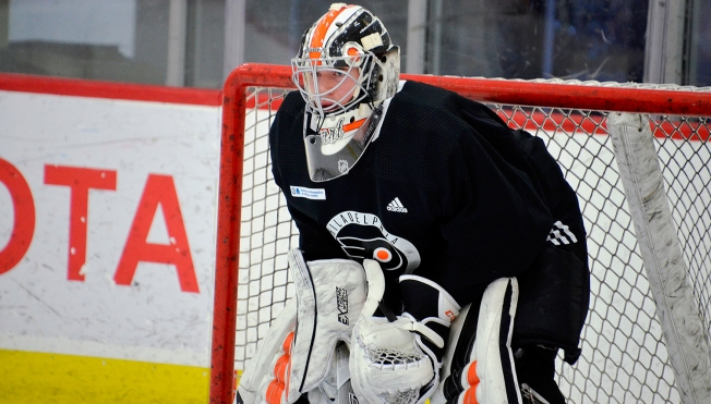 069859aeb Notable Comparisons for Flyers Goalie Carter Hart s Path to NHL at 20 Years  Old