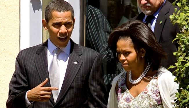 President Obama, Family Celebrate Easter at Church