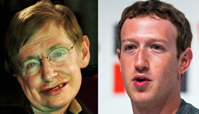 Stephen Hawking Pops In For Mark Zuckerberg's Facebook Q&A, Asks About 'Gravity and Other Forces'