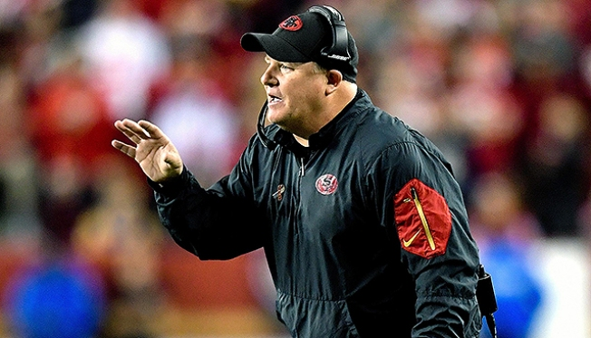 49ers Fire Chip Kelly After Going 2-14 in First Season as Head Coach