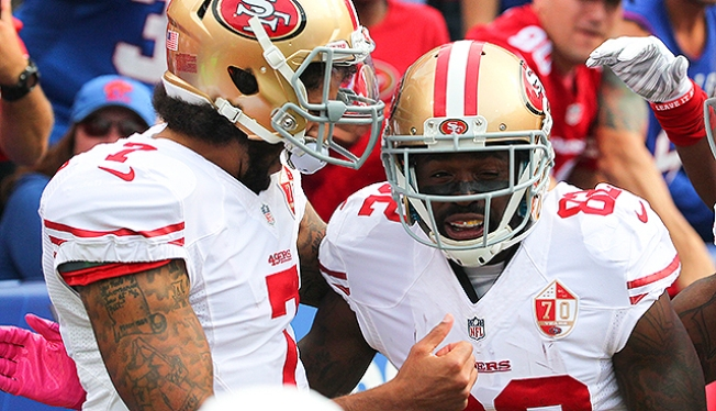 Torrey Smith Says Colin Kaepernick Being Mistreated Amid Giants Exec Mara's Comments