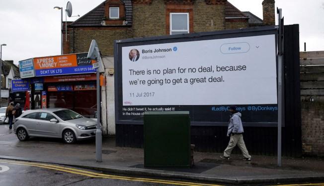In Brexit Limbo, UK Veers Between High Anxiety, Grim Humor