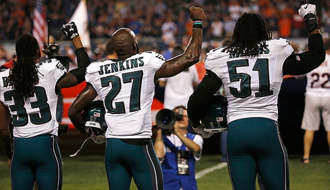 Malcolm Jenkins Unsure If He'll Continue National Anthem Protest on Thursday