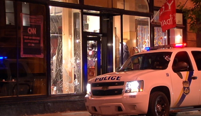 3 Smash-and-Grab Burglars Steal From Manayunk Store