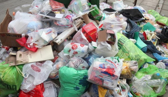 Garbage Piling Up on City Streets