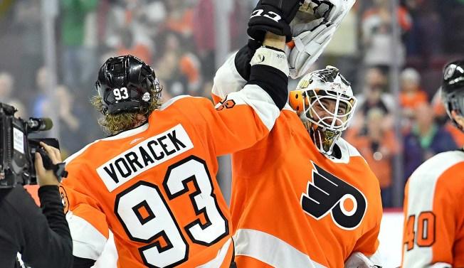 Voracek Vaporizes Late Deficit for Rolling Flyers