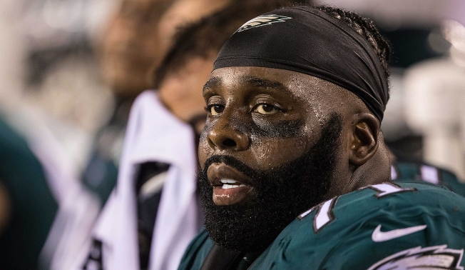 8f688d0ddb5 Jason Peters Leaves Eagles-Giants Game With Biceps Injury - NBC 10 ...