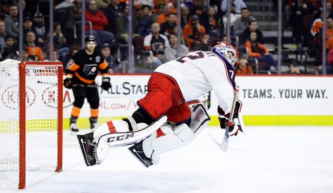 What the Sergei Bobrovsky-Blue Jackets 'incident' Could Mean for Flyers