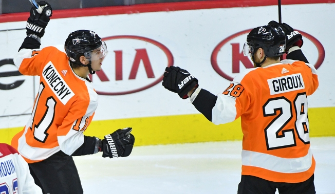 How Konecny Is Making Giroux, Couturier Even Better
