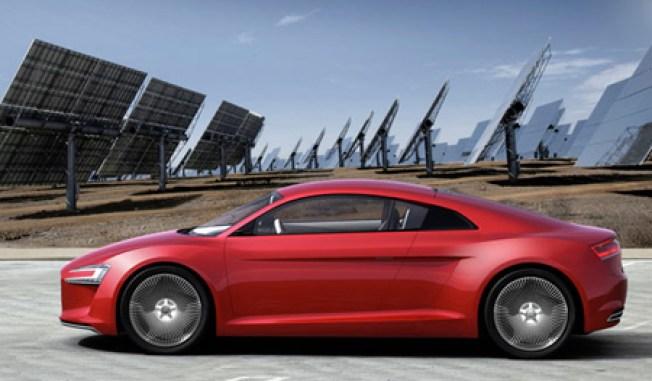 Audi E-Tron Concept Hits the Road
